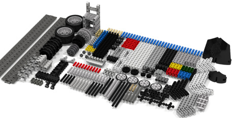 EV3 Part List in LDD